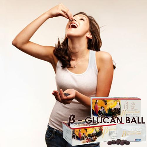 Beta Glucan Ball người bình thường uống được không?
